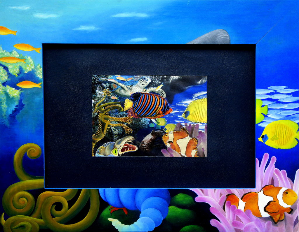 marine creatures 35x45