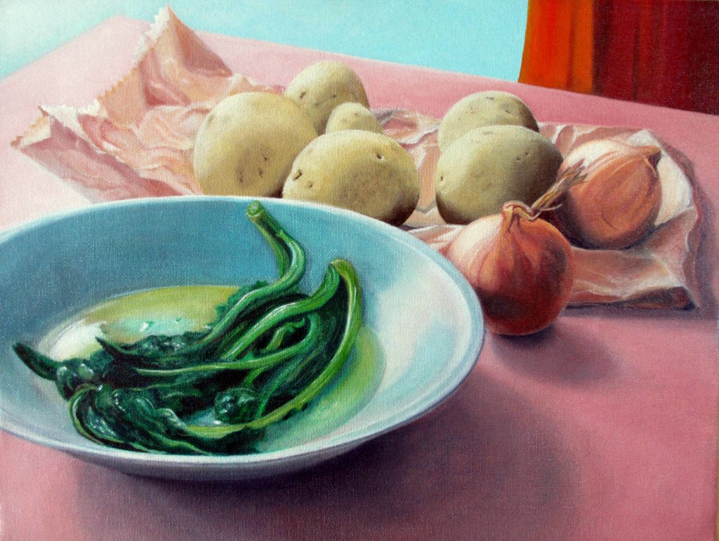 vegetables 2012 oil on canvas 30x39