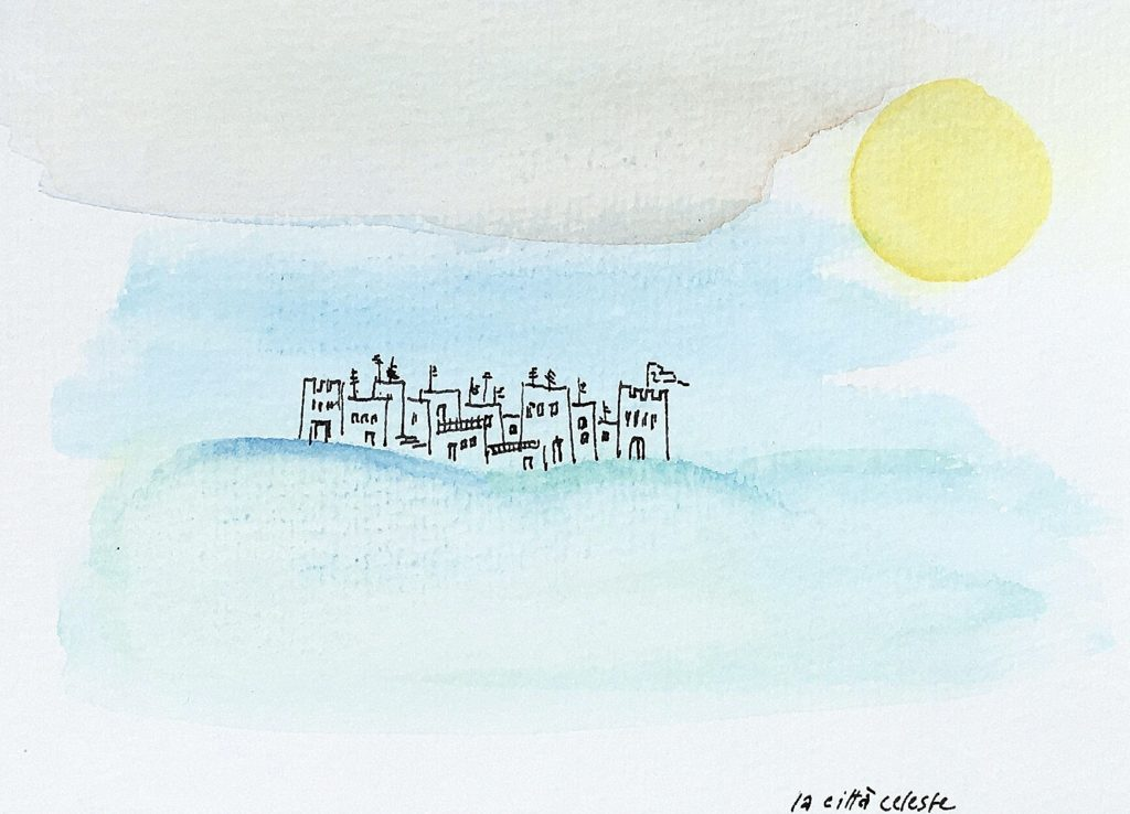 illustrative work the heavenly city